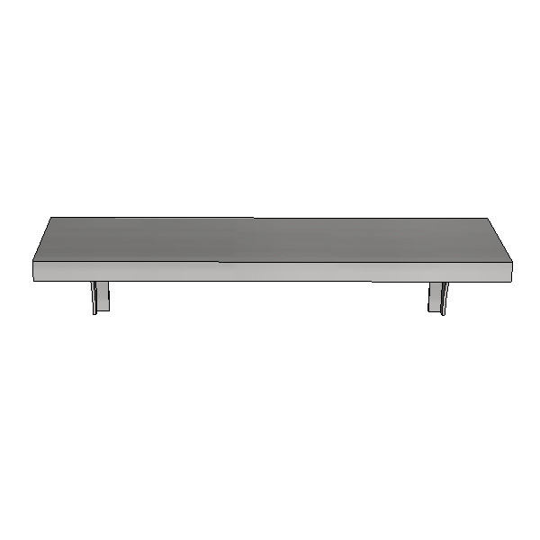 Britex Shelf 457mm