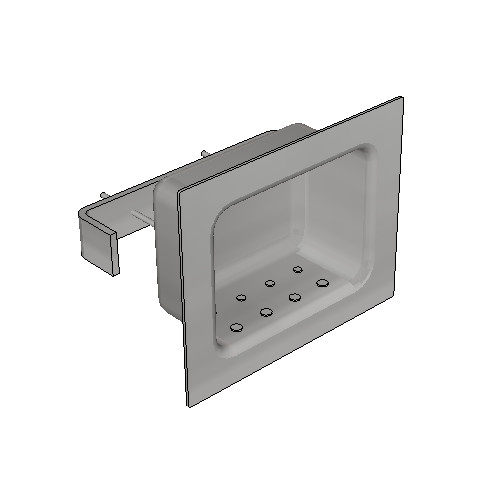 Britex Security Soap Holder (Rear Fixed)