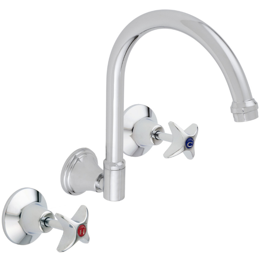 Galvin 20engineering 20chrome 20plated 20vandal 20resistant 20jumper 20valve 20wall 20sink 20set.