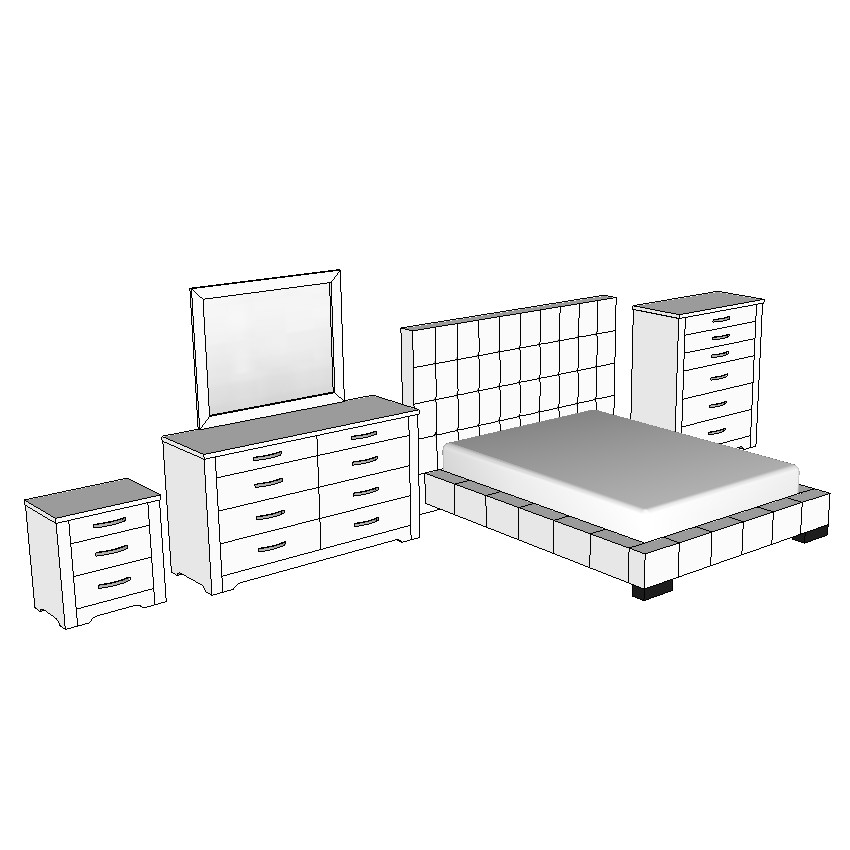 Forty Winks Alexa Queen Bed Suite Set