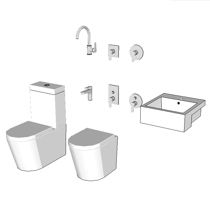 Bunnings Azzurra Bathroom Package