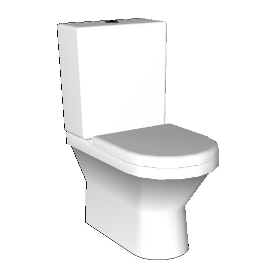 Rogerseller s line s50 bottom inlet toilet suite2