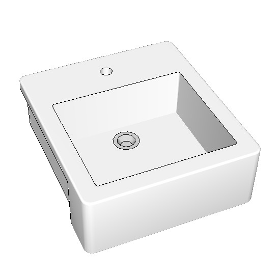 Rogerseller nuovella semi recessed basin 4002