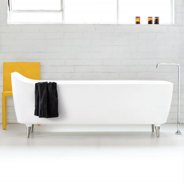Rogerseller Amélie Freestanding Lucite Acrylic Bath