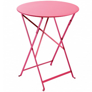 Bistro folding table 60cm round