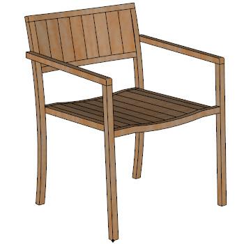 New york armchair skp
