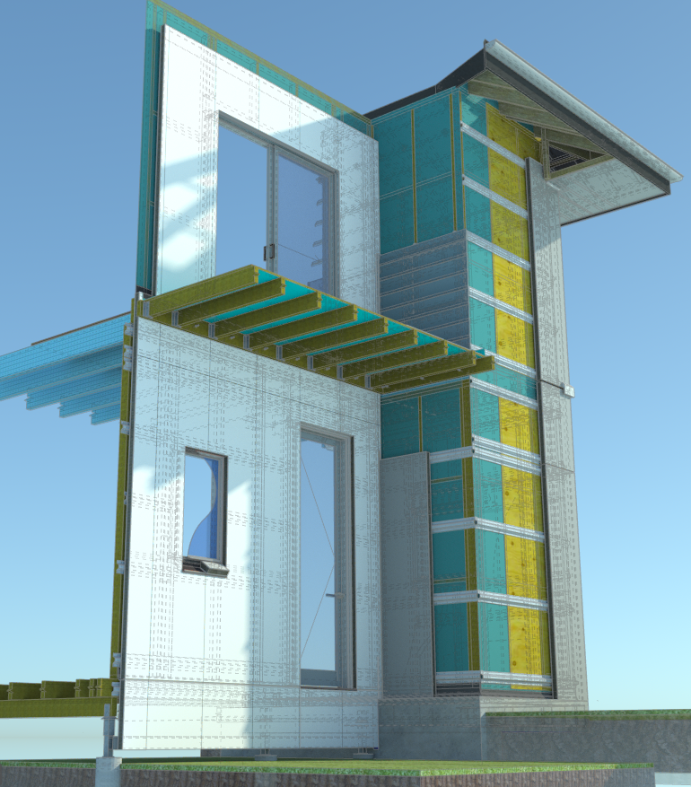 Pronto Panel 3D Residential Detail
