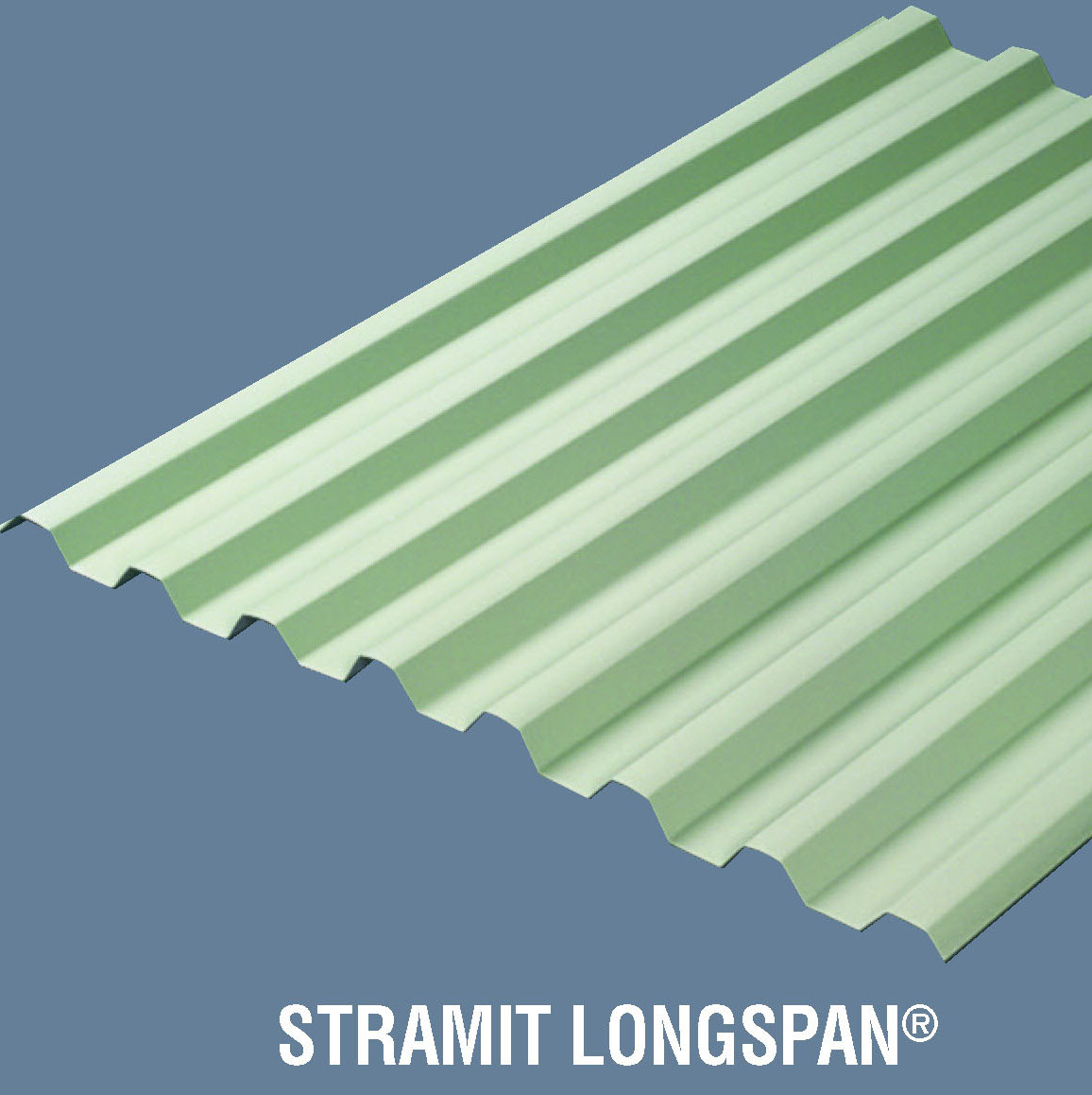 Stramit longspan roof wallcladding r
