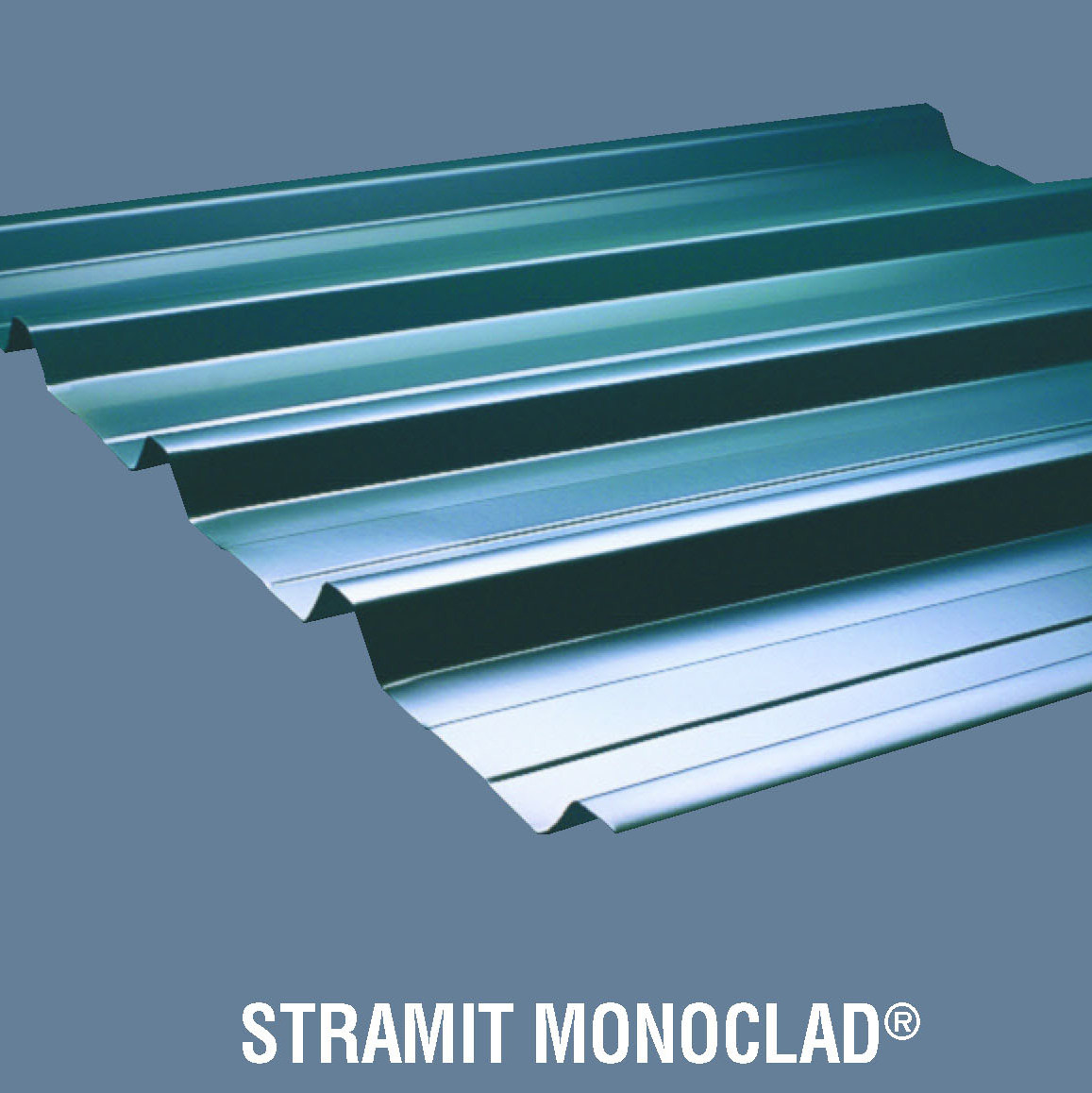 Stramit monoclad roof wallcladding r